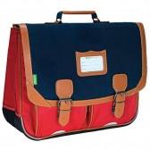Cartable Tann's Bleu et Rouge 41 CM Les bicolores