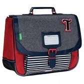 CP Schoolbag Tann's Lou Gris 35 CM - The Hunts