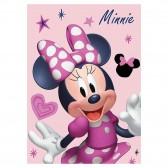 Plaid polaire Minnie Disney 140x100cm - Couverture