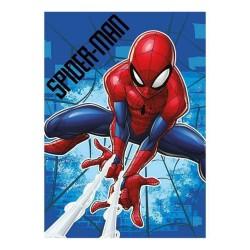 Polar Plaid Spiderman Blue 140x100cm - Cover