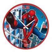 Wandklok Spiderman vechten 32 CM