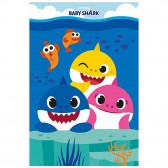 Polplaid Baby Shark 100 x 150 cm - Decke