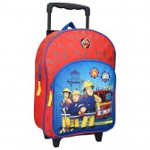 Wheeled Backpack Sam the Firefighter Rescue 38 CM Trolley Cartable