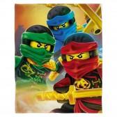 Plaid polaire LEGO Ninjas 100 x 150 cm - Couverture