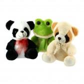Peluche au choix : Panda, Grenouille ou Koala - 20 CM