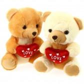 """Ours en peluche """"LOVE"""" - 2 modèles au choix - 20 CM"""