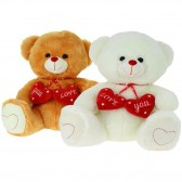 "Ours en peluche ""love you"" 18 cm"