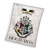 Harry Potter Hogwarts Polar Plaid 100 x 140 cm - Cubierta