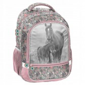 Horse Flower Backpack 42 CM - 2 Cpts
