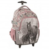 Horse Flower 44 CM Trolley top-of-the-line backpack