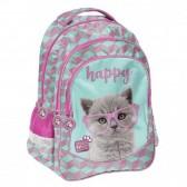 Kitten Backpack Studio Mascotas 42 CM 2 Compartimentos