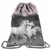 Pool-Tasche Pferd Weiß 45 cm