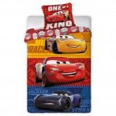 Parure housse de couette Cars Disney 140x200 cm et Taie d'oreiller