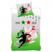 Bettbedecke Algerie 2 Sterne 140x200 cm und Kissenbezug Fußball
