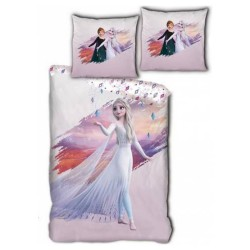 Snow Queen duvet cover 140x200 cm and Frozen Pillow Taie