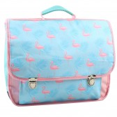 Cartable Flamant Rose