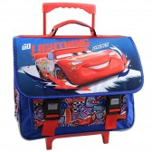 Cartable à roulettes Cars Go Lightning - 41 CM