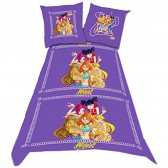 Winx Club 140x200 cm duvet cover and pillow taie