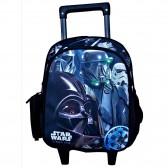 Sac à dos à roulettes maternelle Star Wars 28 CM trolley - Cartable