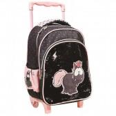 Minnie Pompon 31 CM Maternal Wheeled Backpack