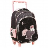 Minnie Pompon 31 CM Maternal Wheeled Backpack