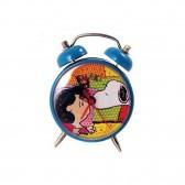 Mini reloj despertador metálico Snoopy 8 CM