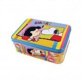 Snoopy rectangular metal box