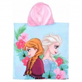 Snow Queen Hooded Bath Poncho - Frozen
