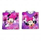 Poncho de bain à capuche Minnie - Disney