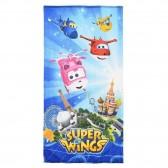 Serviette drap de bain Super Wings 140x70 cm