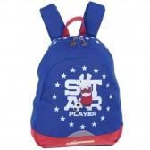 Borne Teddy Smith Blue 45 CM Backpack