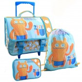 Wheeled Binder Set, Uglydolls Sports Bag and Pencil Box