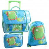 Wheeled Binder, Uglydolls Wage Sports Bag and Pencil Box