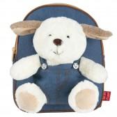 Animal Peluche 25 CM Maternal Backpack - Reversible