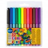 MAGIC VILLAGE 12-coloring felt pouch