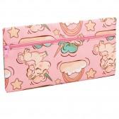 Estuche Pink Flamingo rectangular 22 CM