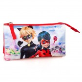 Ladybug Miraculous rectangular kit 23 CM - 2 Cpt
