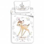 Ballerina 140x200 cm cotton duvet cover and pillow taie
