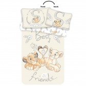Dumbo Little One 100x135 cm cotton duvet cover and pillow taie