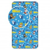Mickey 1-person cotton cover sheet 90x200 cm