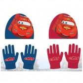 Ensemble Bonnet + gants Cars Disney