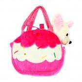 Peluche Chihuahua dans son petit sac