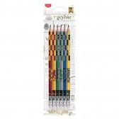 Crayon de bois Harry Potter Graphite HB MAPED - Lot de 6