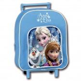 Sac à roulettes La reine des neiges Elsa, Anna et Olaf 28 CM maternelle