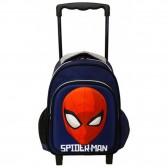 Sac à roulettes maternelle Spiderman Armour 30 CM - Cartable