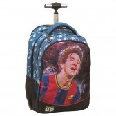 Sac à dos à roulettes Messi 48 CM - Football Trolley