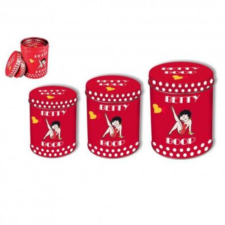 Betty Boop Gigogne Tube Boxes
