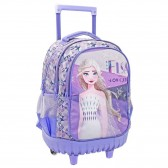 Snow Queen Backpack 2 45 CM Trolley Frozen