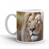 Mug en céramique Lion Animal Planet - Tasse