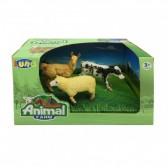 Speelgoeddieren van Luna Farm - Lot van 3